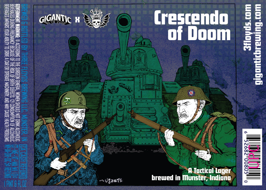 Gigantic Three Floyds Crescendo of Doom