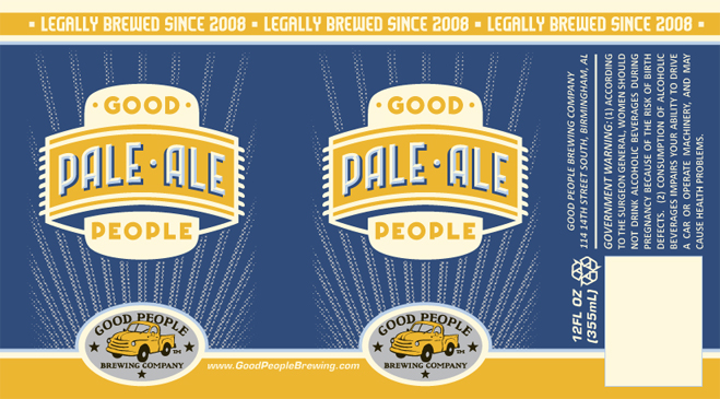 Good People Brewing Pale Ale