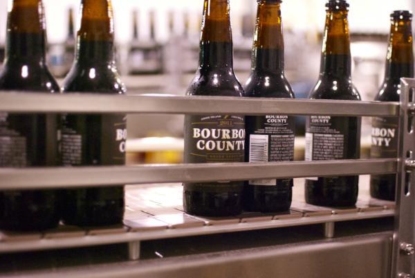 The Original. Goose Island Bourbon County Brand Stout.