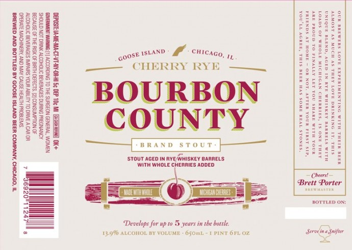 Goose Island Cherry Rey Bourbon County