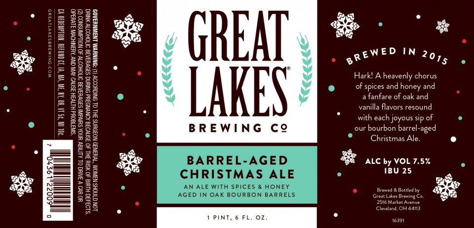 Great Lakes Barrel-Aged Christmas