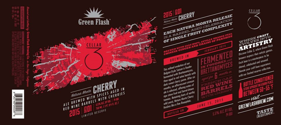 Green Flash Natura Morta with Cherry