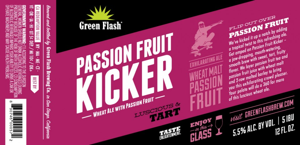 Green Flash Passionfruit Kicker