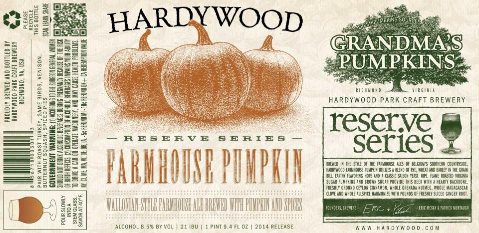 Hardywood Farmhouse Pumpkin