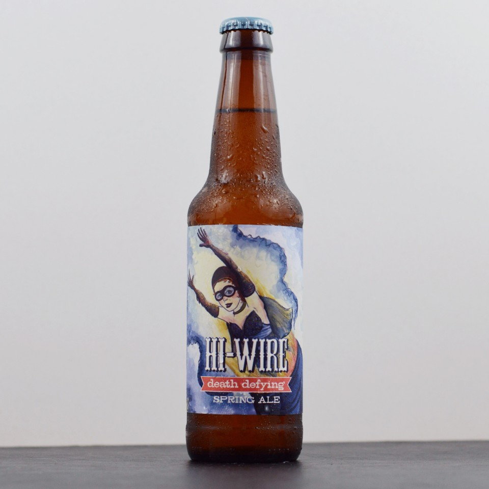 Hi-Wire Death Defying Spring Ale