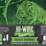 Hi Wire Maneater Double India Pale Ale