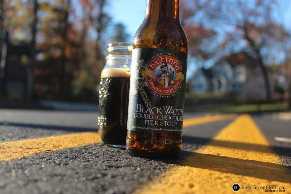 Highland Black Watch Double Chocolate Milk Stout