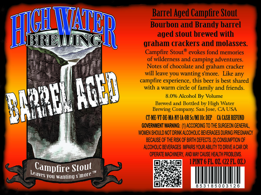 Highwater Barrel Aged Campfire Stout
