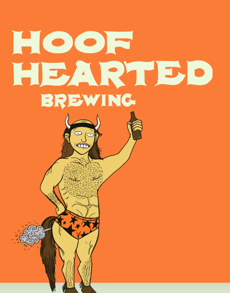 Hoof Hearted Brewing Logo