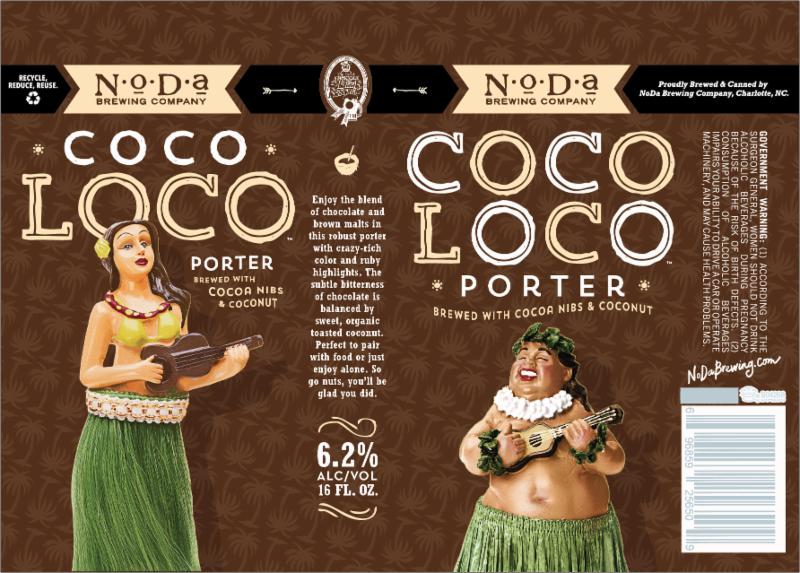 NoDa Coco Loco Cans