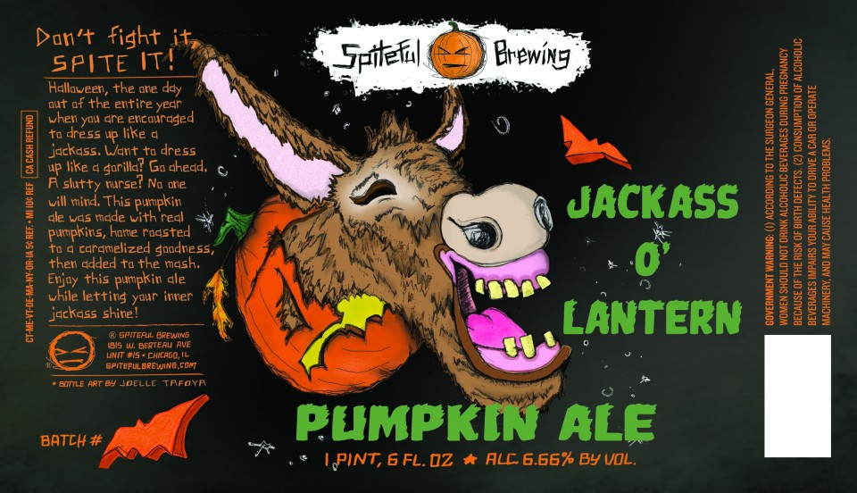Spiteful Brewing Jackass O'Lantern