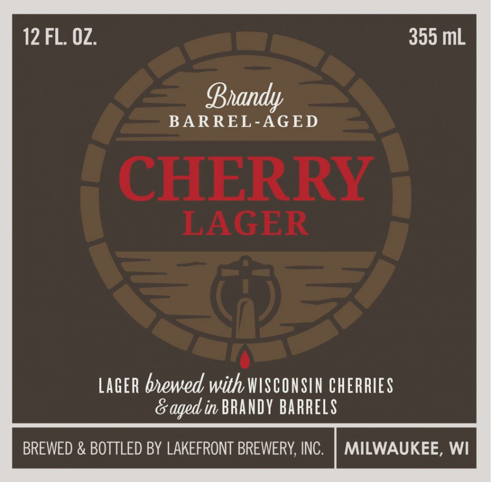 Lakefront Brandy Barrel Aged Cherry Lager