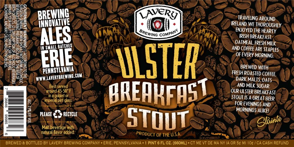 Lavery Ulster Breakfast Stout