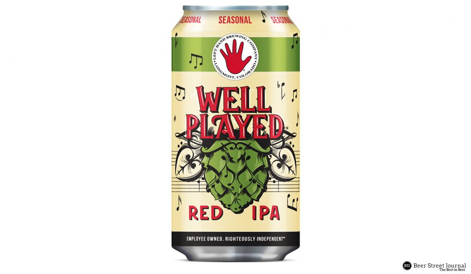 Left Hand Well Played Red IPA