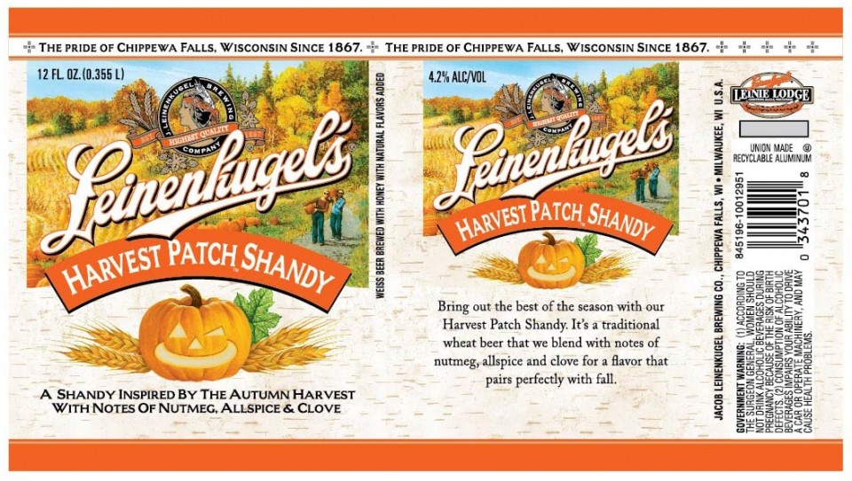 Leinienkugel Harvest Patch Shandy 12oz Can BF