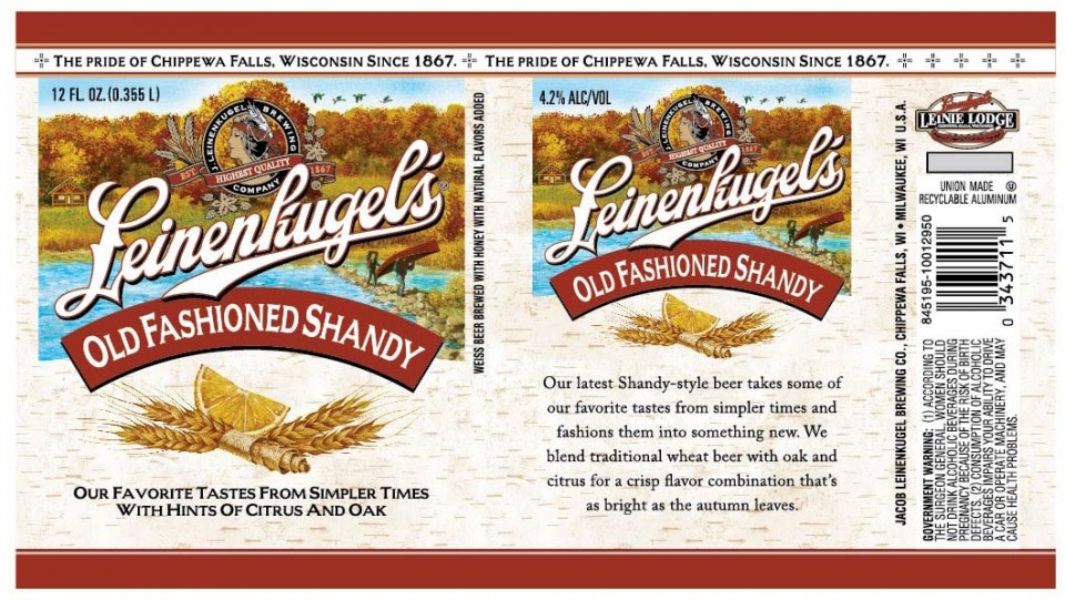 Leinenkugel's Old Fashioned Shandy - Beer Street Journal