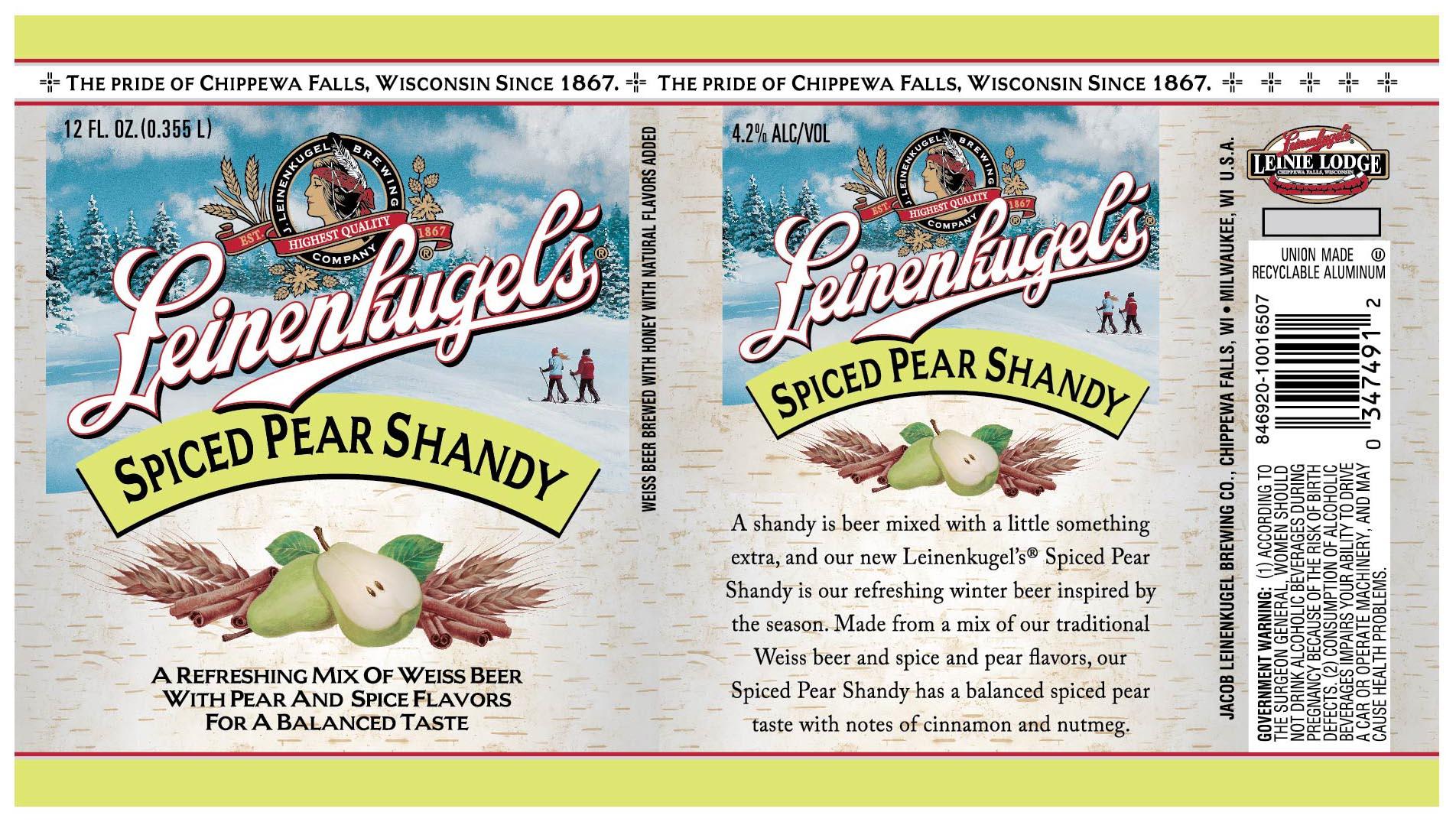 Where to buy leinenkugel s grapefruit shandy - Leinenkugel S Spiced Pear Shandy
