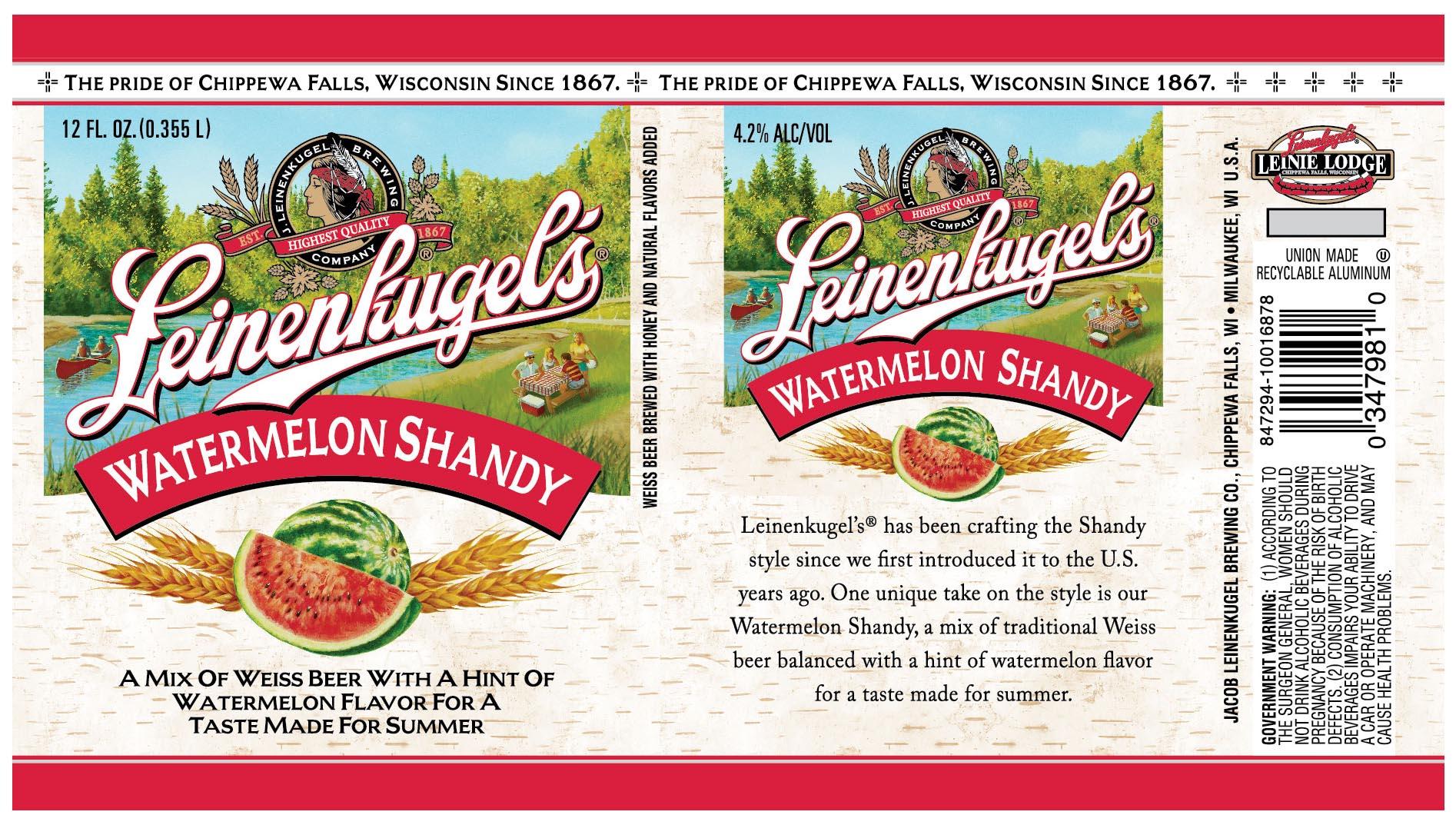 Where to buy leinenkugel s grapefruit shandy - Leinenkugel Watermelon Shandy To Join Extensive Lineup Beer Street Journal