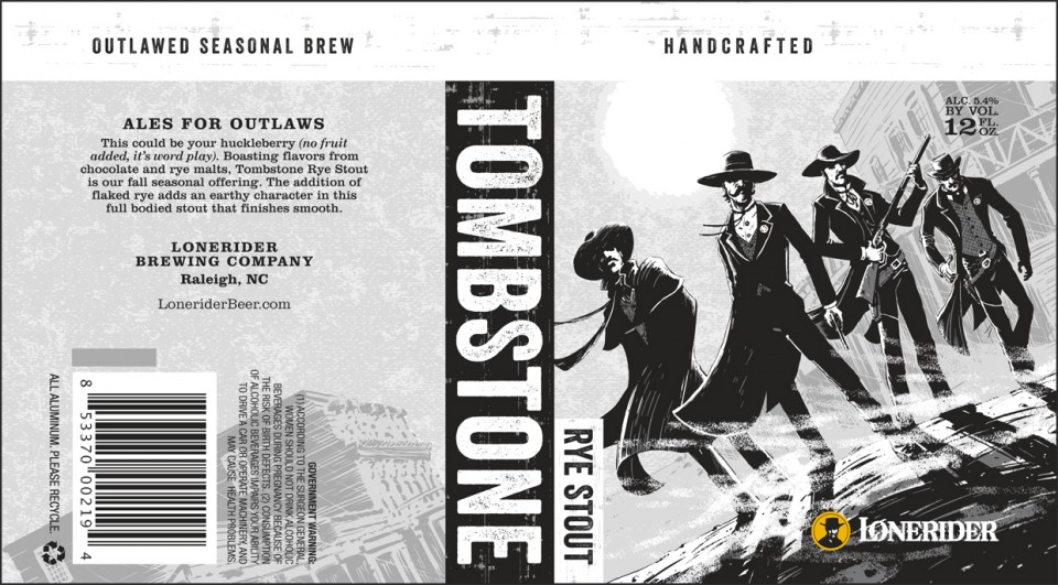 Lonerider Tombstone Rye Stout