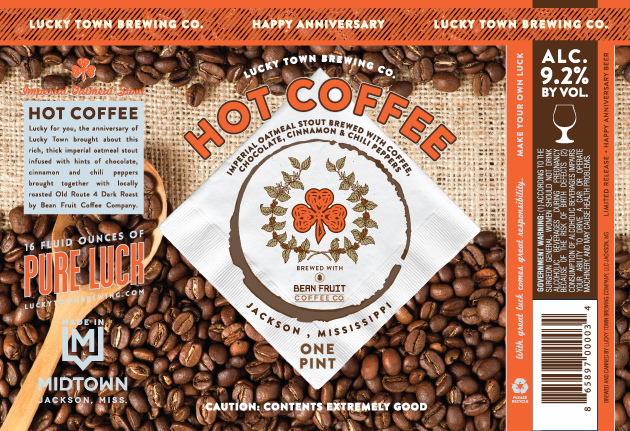 Lucky Town Hot Coffee