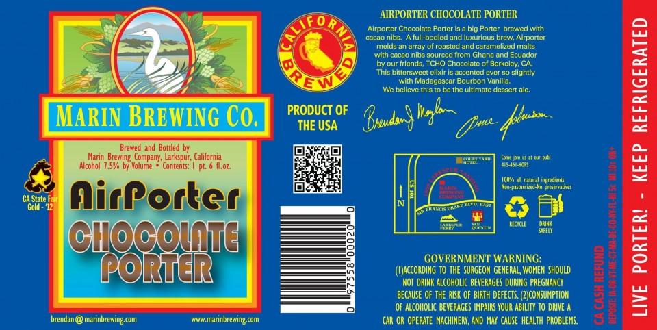 Marin AirPorter Chocolate Porter