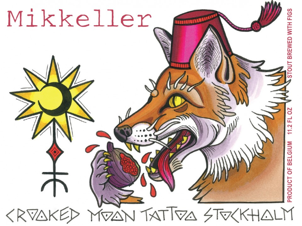 Mikkeller Crooked Moon Tattoo