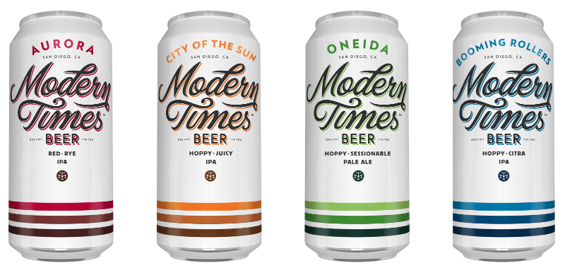 Modern Times Seasonal Cans