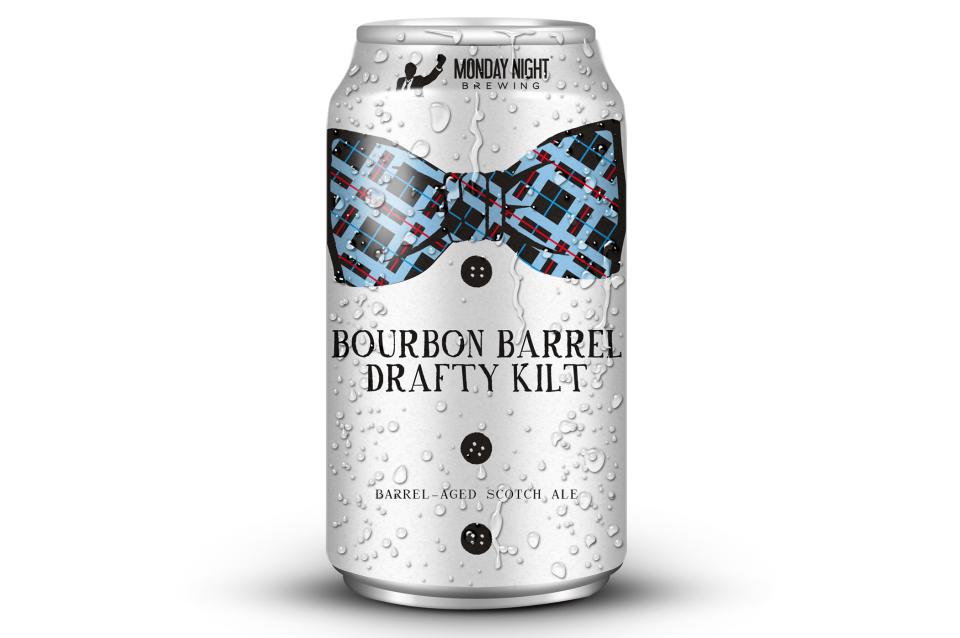 Monday Night Bourbon Barrel Drafty Kilt can