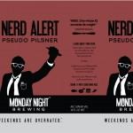 Monday Night Nerd Alert cans