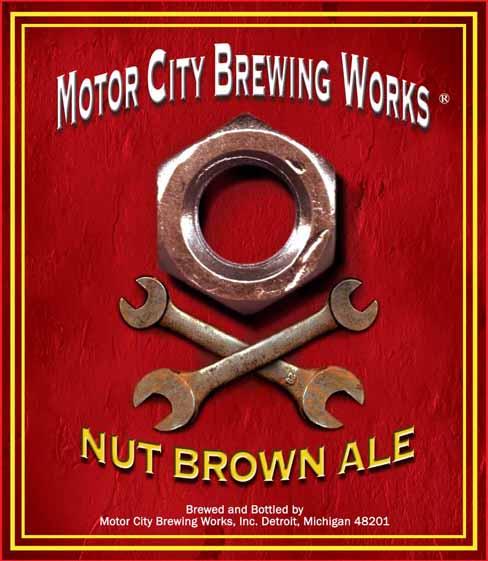 Motor City Brew Works Nut Brown Ale Beer Street Journal