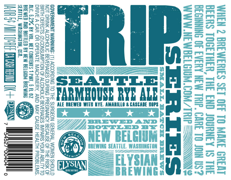 New Belgium Elysian Trip Farmhouse Ale Beer Street Journal