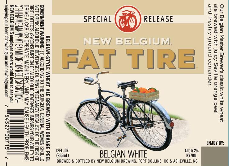New Belgium Fat Tire White Ale