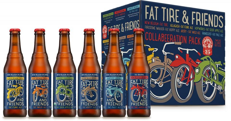 New Belgium Fat Tire & Friends