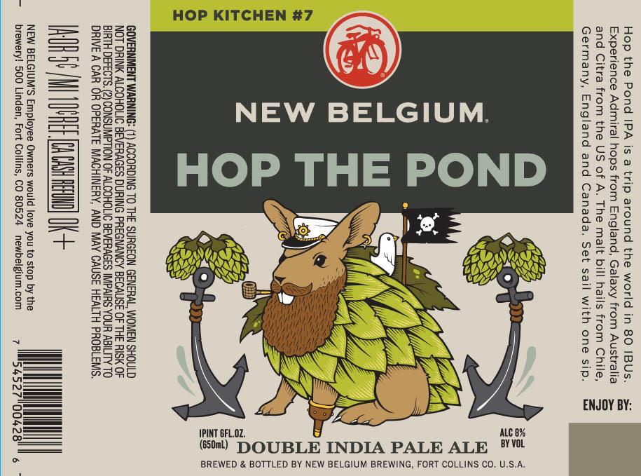 New Belgium Hop The Pond