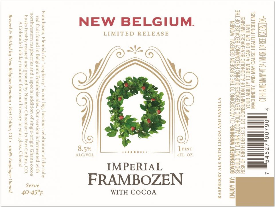 New Belgium Imperial Frambozen with Cocoa