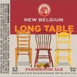 New Belgium Long Table