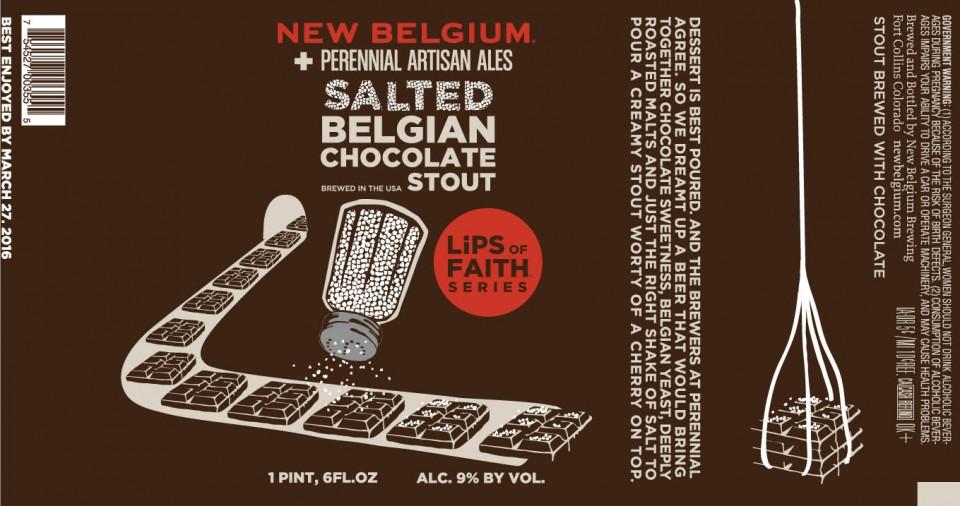New Belgium Perennial Salted Belgian Chocolate Stout