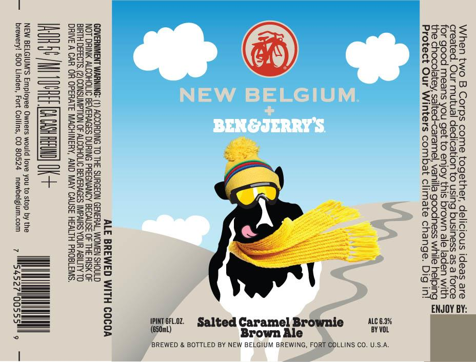New Belgium Salted Caramel Brownie Brown Ale