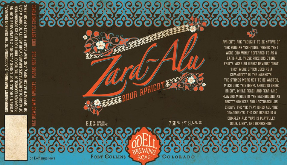 Odell Zard-Alu Sour Apricot