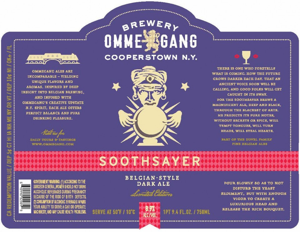 Ommegang Soothsayer (New York) 8.9% ABV
