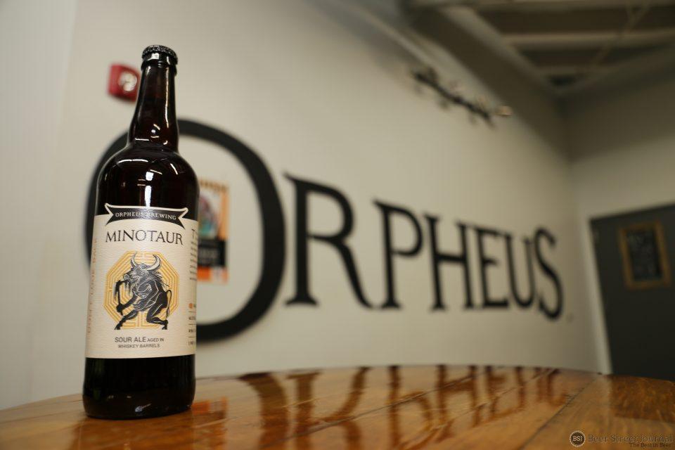 Orpheus Brewing Minotaur