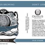 Orpheus Brewing The Rites