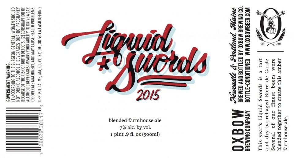 Oxbow Liquid Swords 2015
