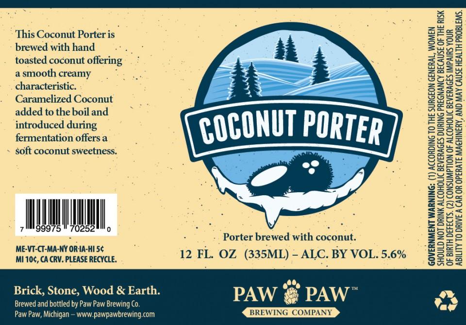 Paw Paw Coconut Porter