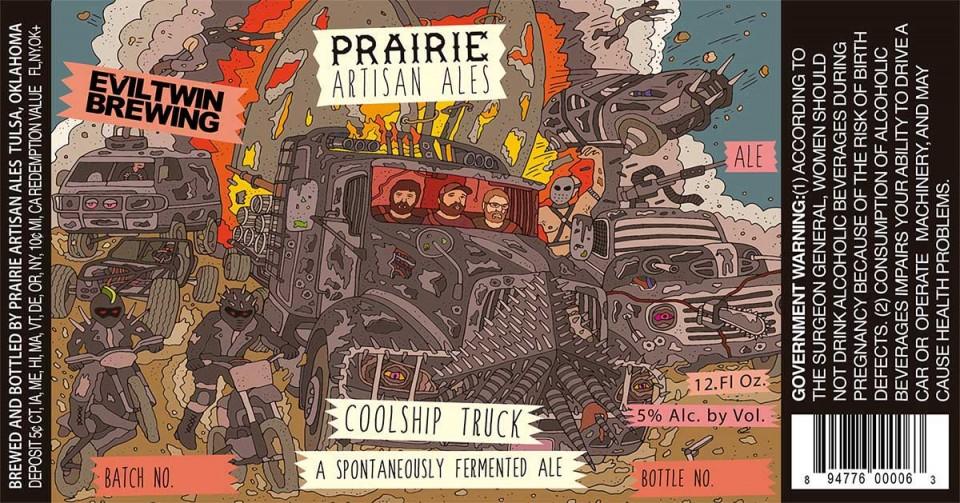 Prairie Artisan Ales Coolship Truck
