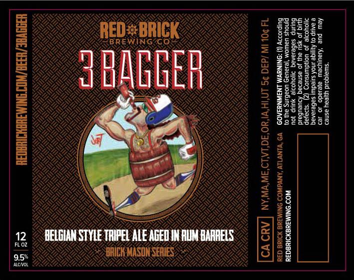 Red Brick 3 Bagger Belgian Style Tripel