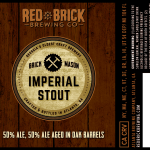 Red Brick Imperial Stout 2015