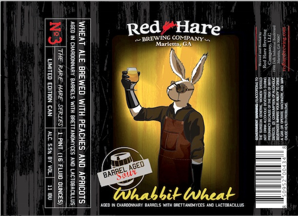 Red Hare Barrel Aged Sour Whabbit Wheat