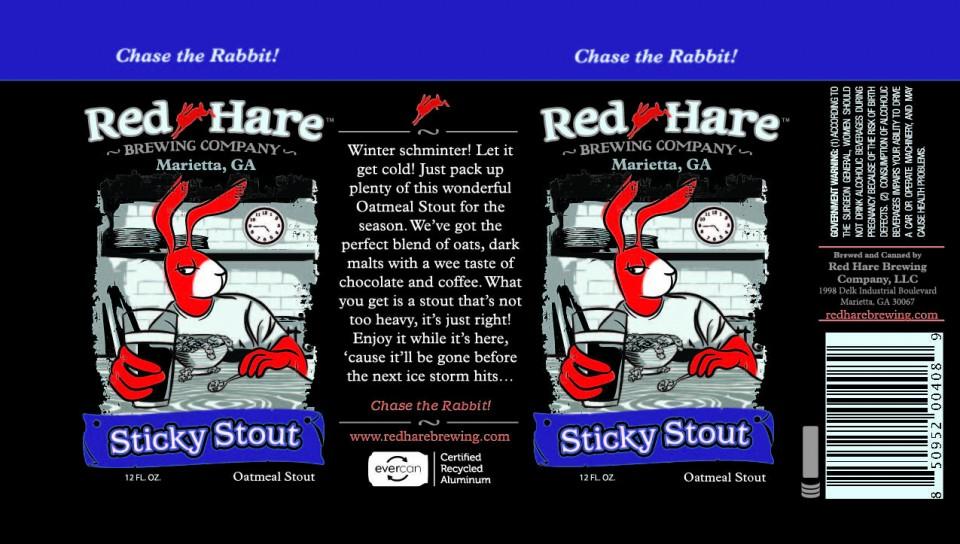 Red Hare Sticky Stout