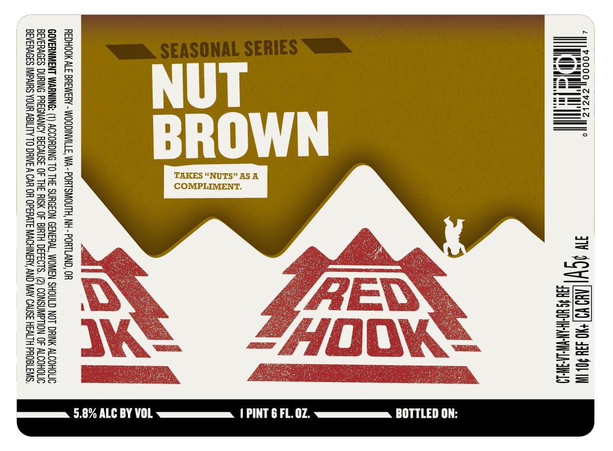 Redhook Nut Brown Ale 22oz bottles   Beer Street Journal